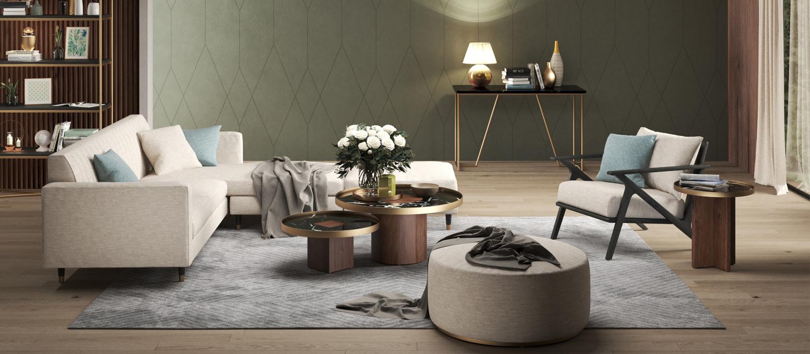 Rumah dengan Furnitur Modern dan Berkualitas Tinggi