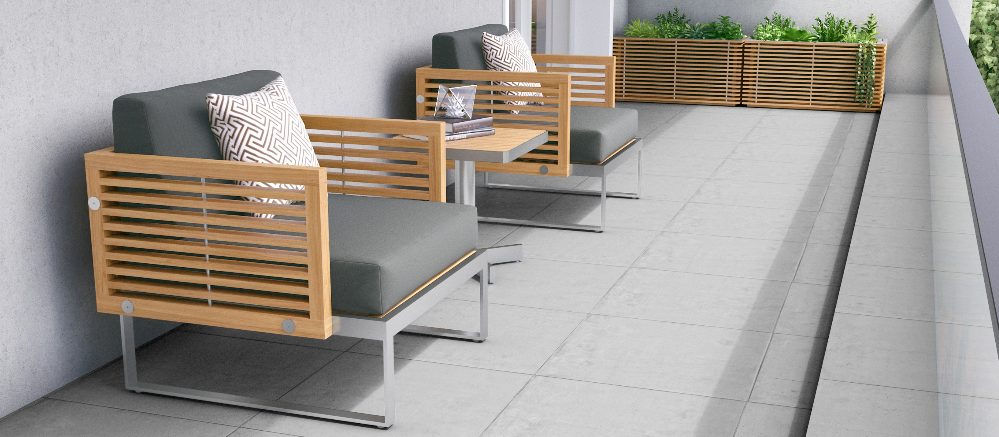 Lounge Design for Your Small Balcony